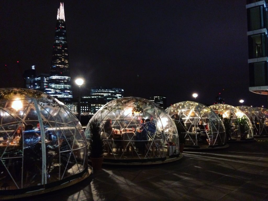 Coppa Club Igloos, London
