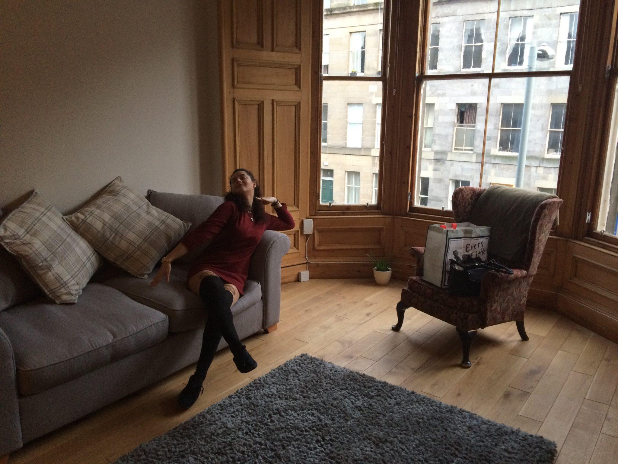 Airbnb in Edinburgh, Scotland