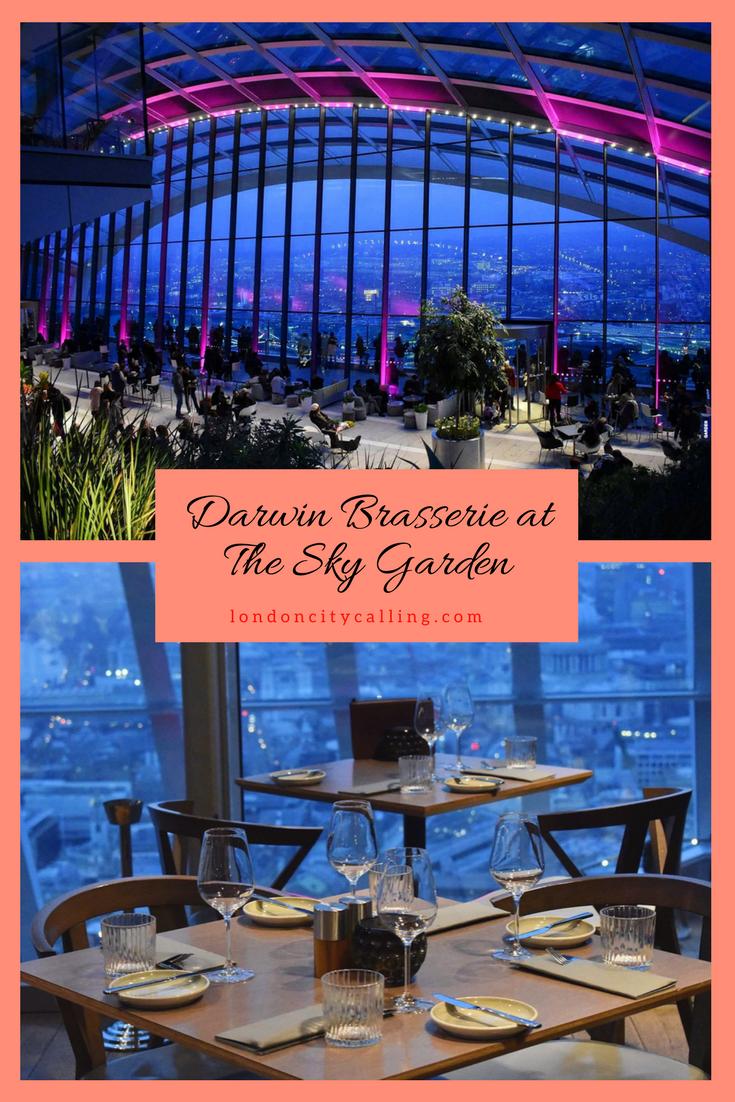 Darwin Brasserie Sky Garden London