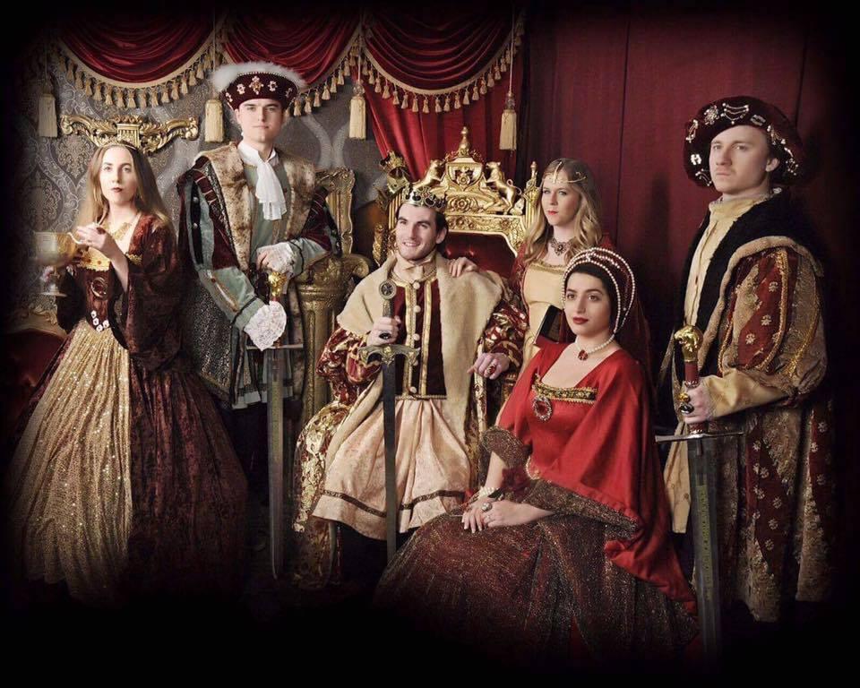 A Tudor Photoshoot in Knightsbridge