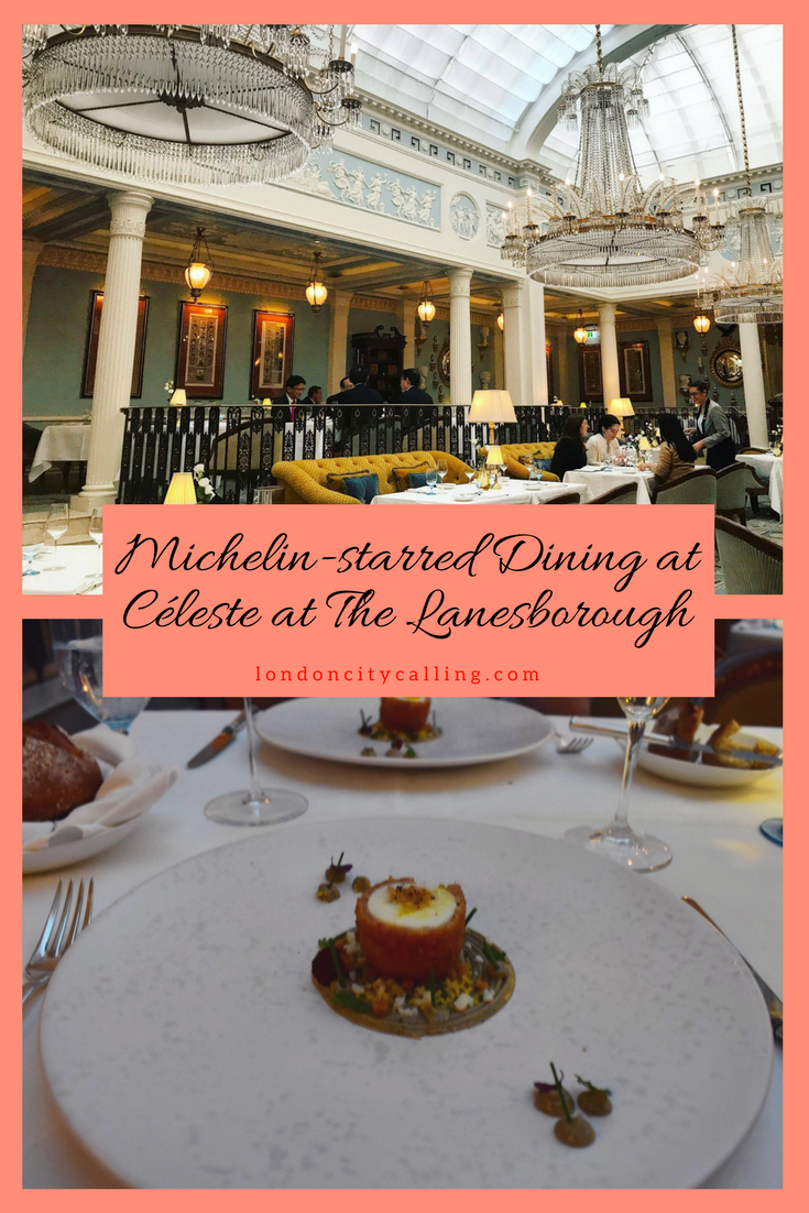 Céleste at The Lanesborough Hotel London