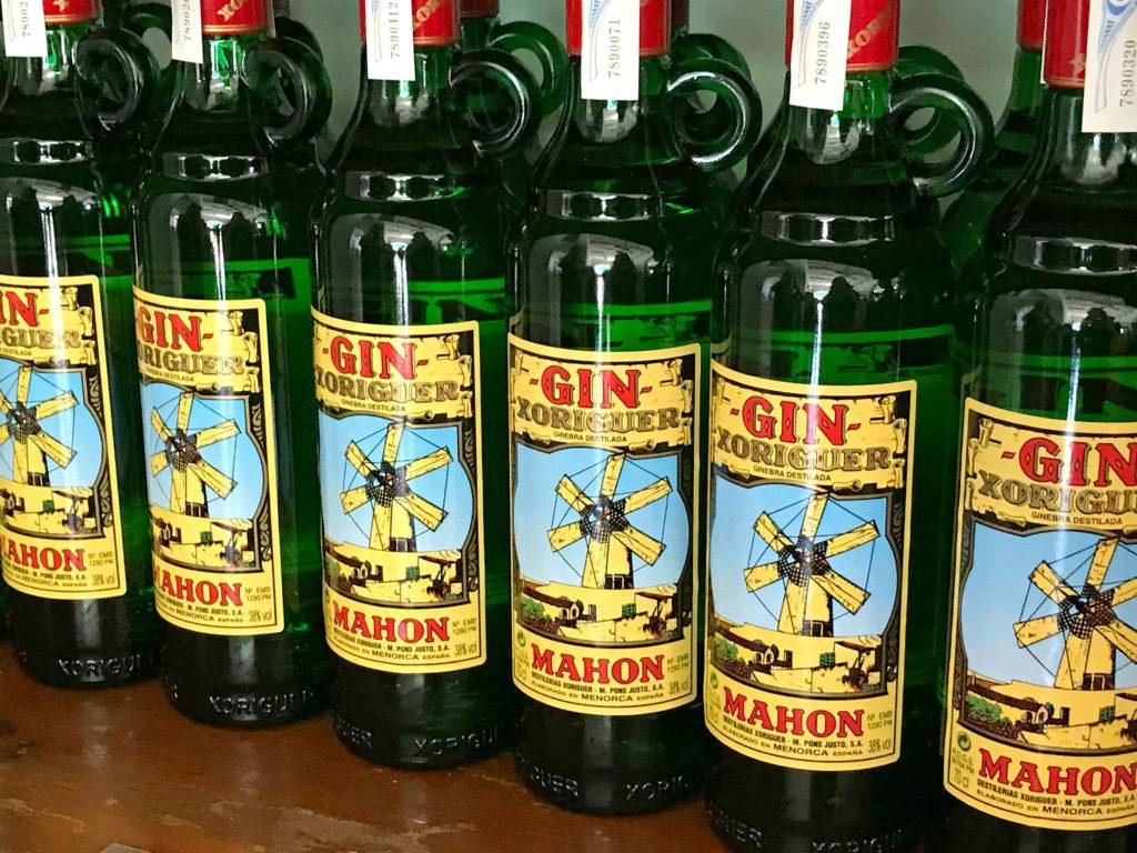 Menorca Spain, Mahon Gin