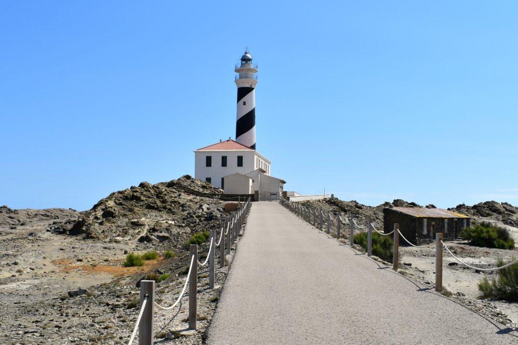 Menorca Spain, Favaritx Lighthouse