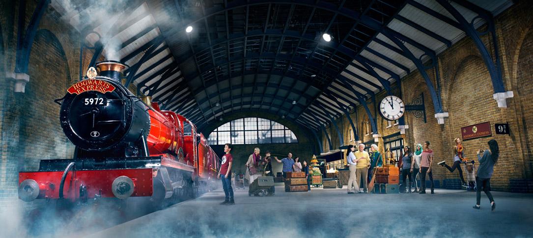 Hogwarts Express Warner Bros Tours London
