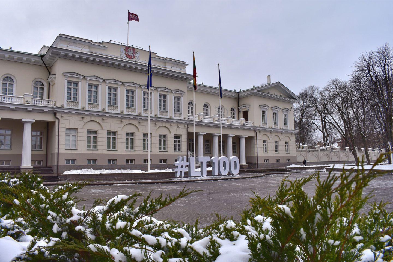 Vilnius Lithuania, Presidential Palace