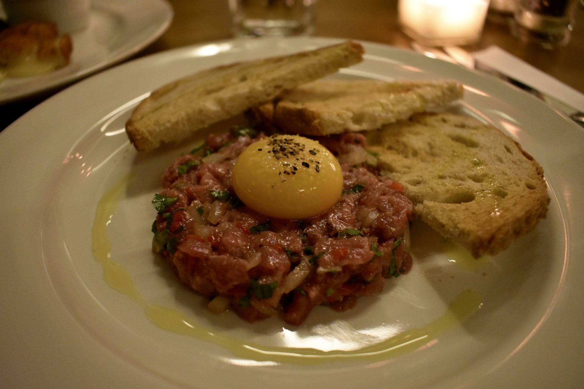 Steak Tartare at The Fulham House, London