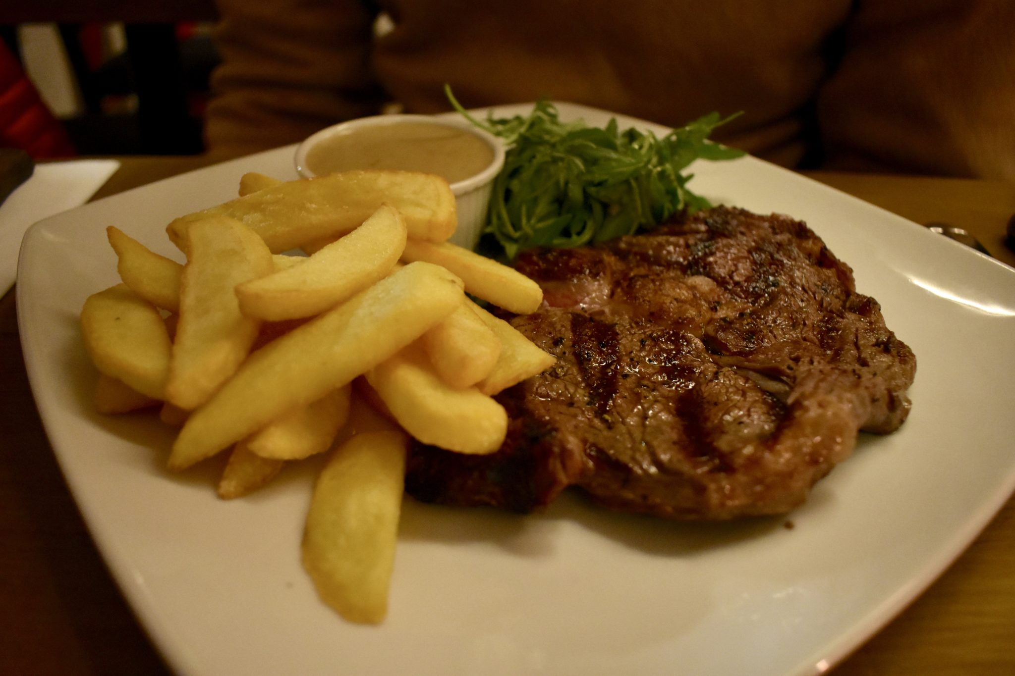 Steak and Chips at The Fulham House