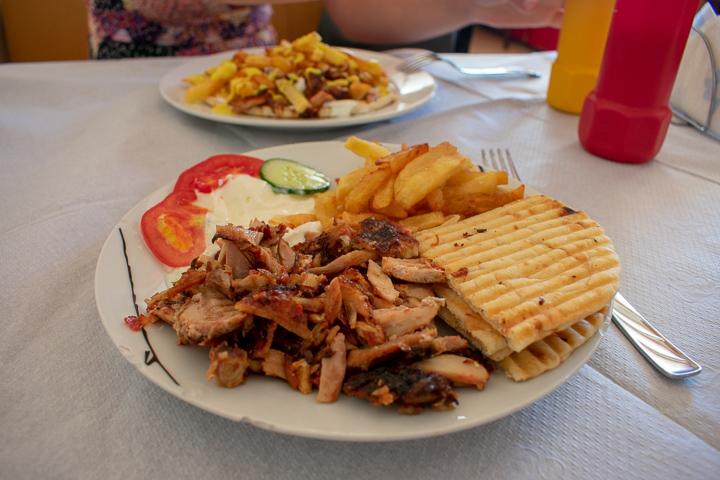 Sufllacqe at Chicken House in Durres Albania