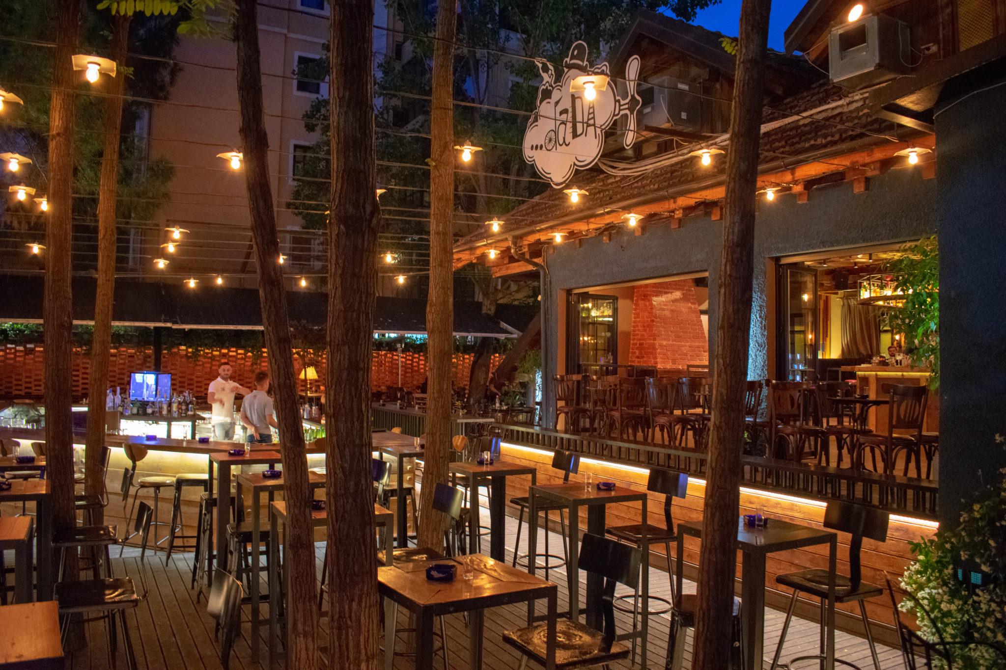 Dada Bar in Blloku, Tirana