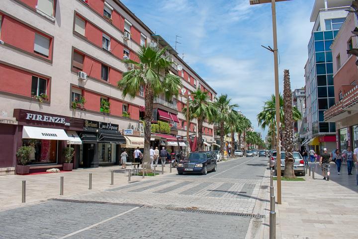 Durres city Albania