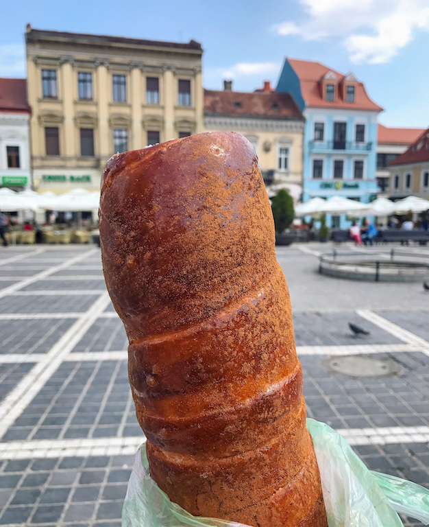 European Snacks Kurtoskalacs Romania