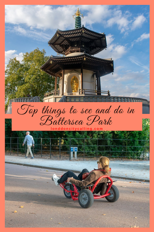 Things to do in Battersea Park London