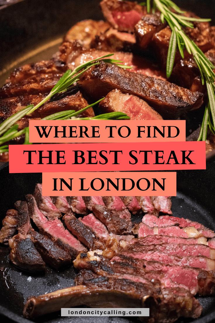 Best London Steak pin