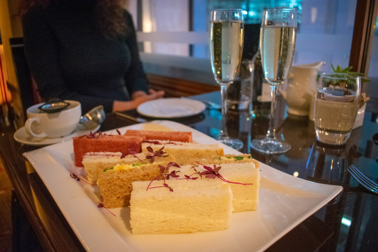 Festive Bottomless Afternoon Tea in London | Petrichor at The Cavendish