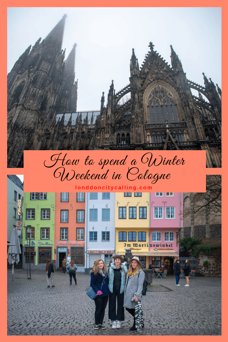 Weekend in Cologne in winter