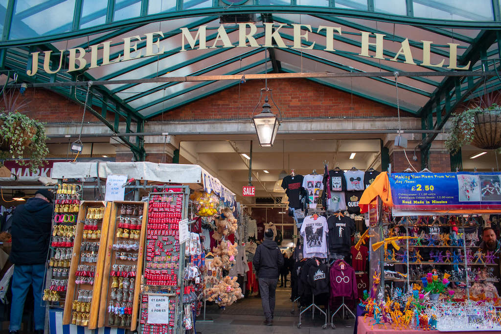 Market in Covent Garden London