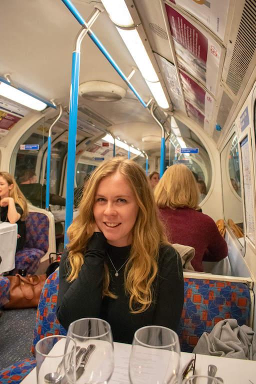 London tube restaurant