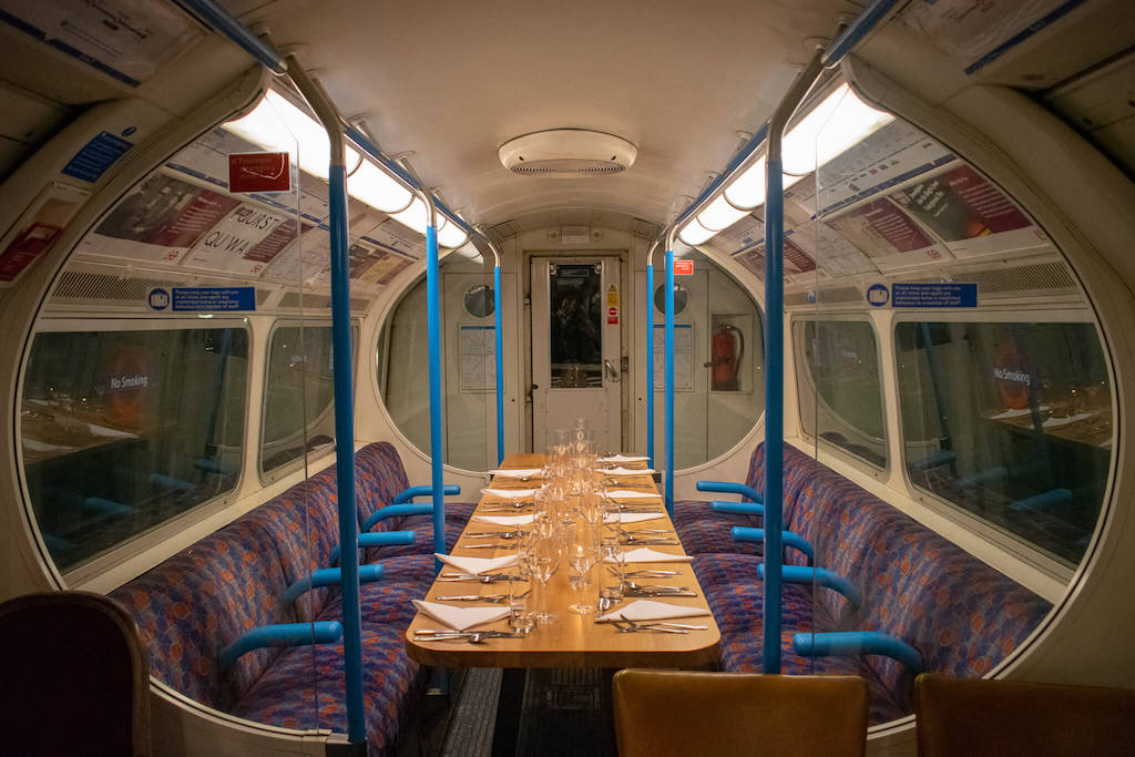 The London Tube restaurant you need to visit | Underground Supper Club