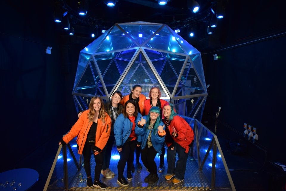 London's New Crystal Maze Live Experience!