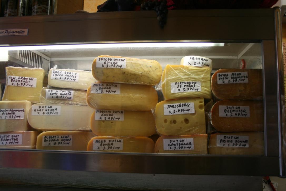 Things to do in Kensington Market Toronto - cheese