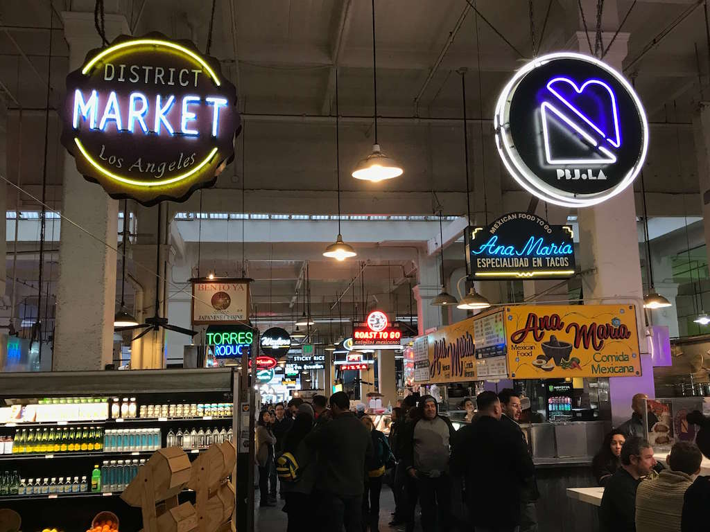 Areas of LA - Grand Central Market