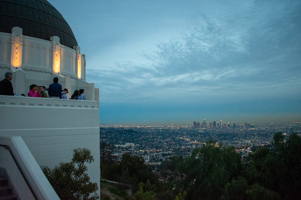 Areas of LA - Griffith Observatory in Griffith Park