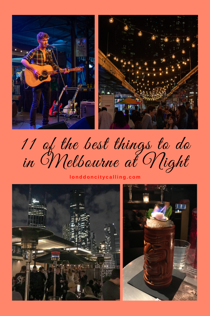 Things to do in Melbourne at Night