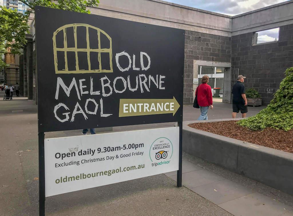 Old Melbourne Goal