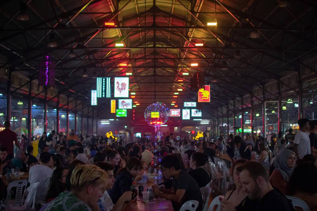 Queen Vic Market Night Market Food Melbourne