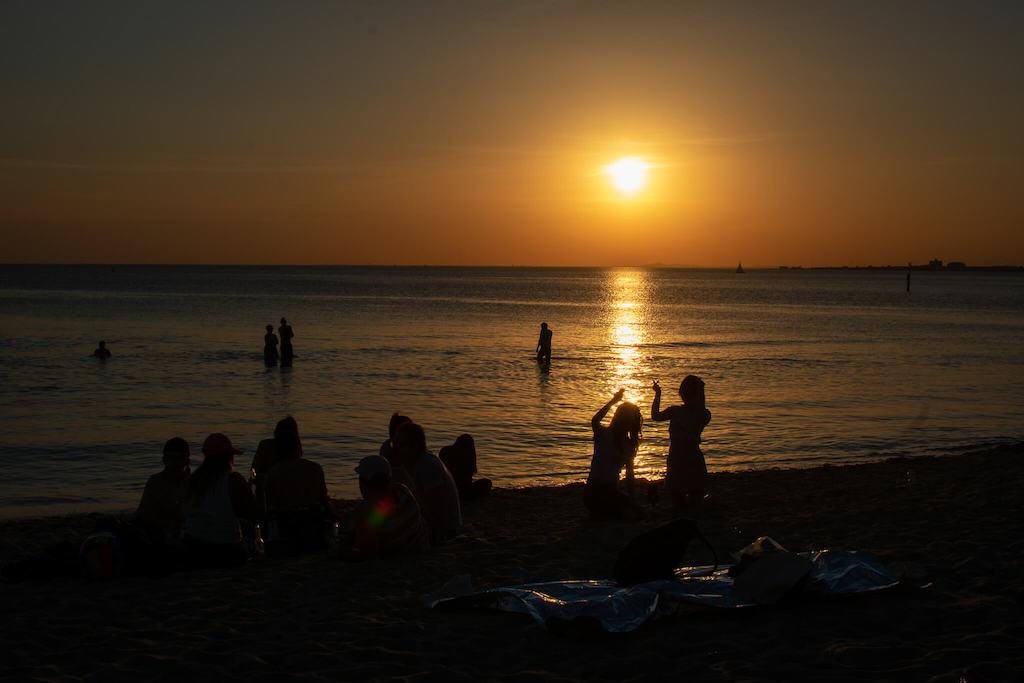 St Kilda Beach Sunset Melbourne