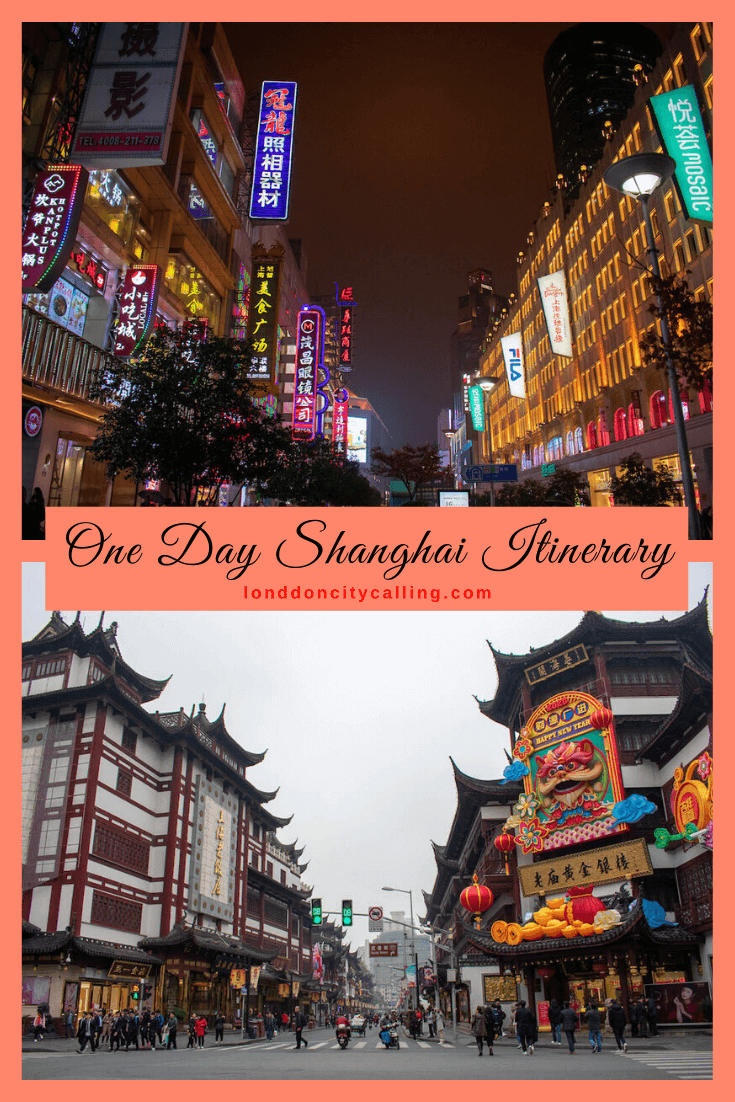 One day in Shanghai pin