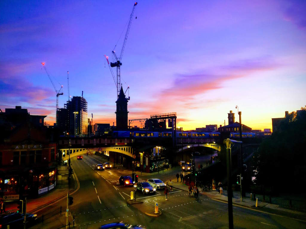 UK City Breaks for the Weekend, Manchester at Night