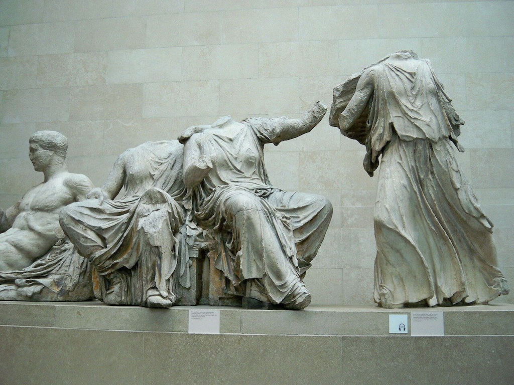 Statues in the British Museum