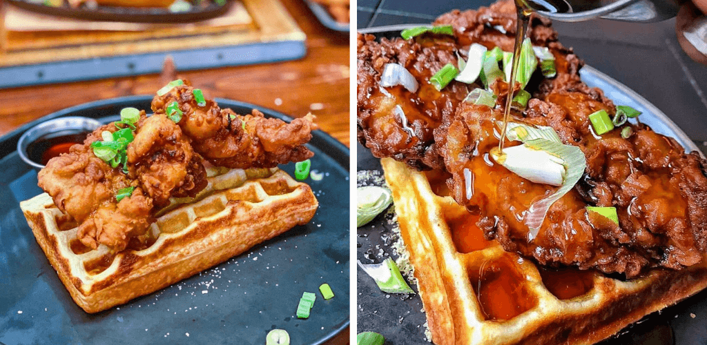 HotBox Chicken and Waffles London