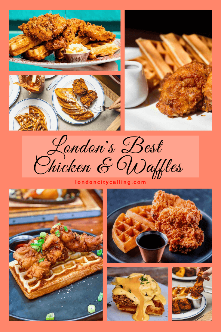 Londons best chicken and waffles pin