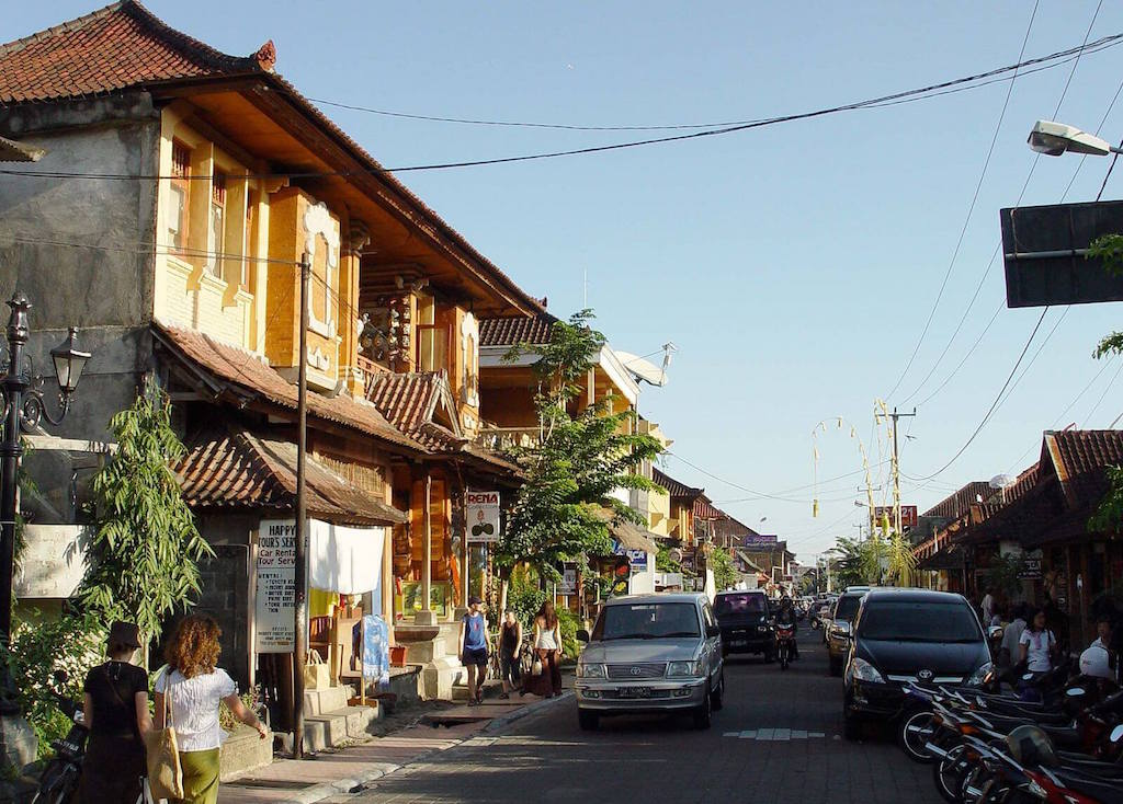 Monkey Forest Street Ubud Bali