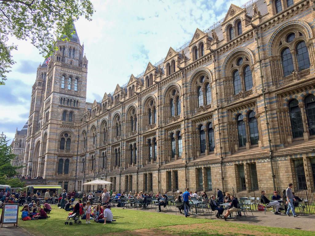 Natural History Museum in South Kensington London