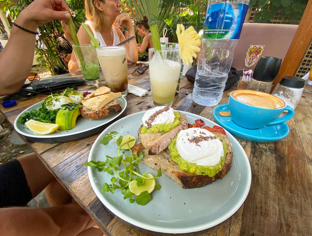 Bali Canggu Brunch spot