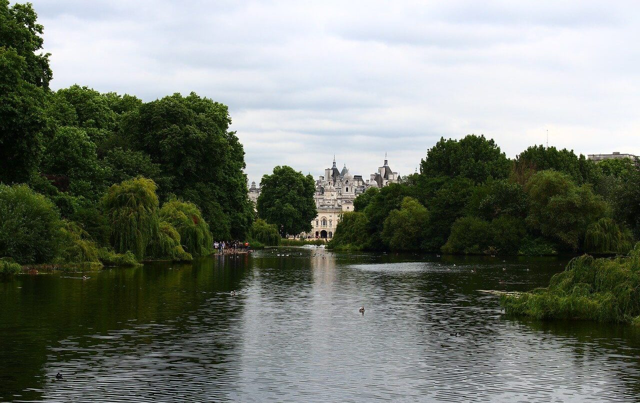St James Park London UK