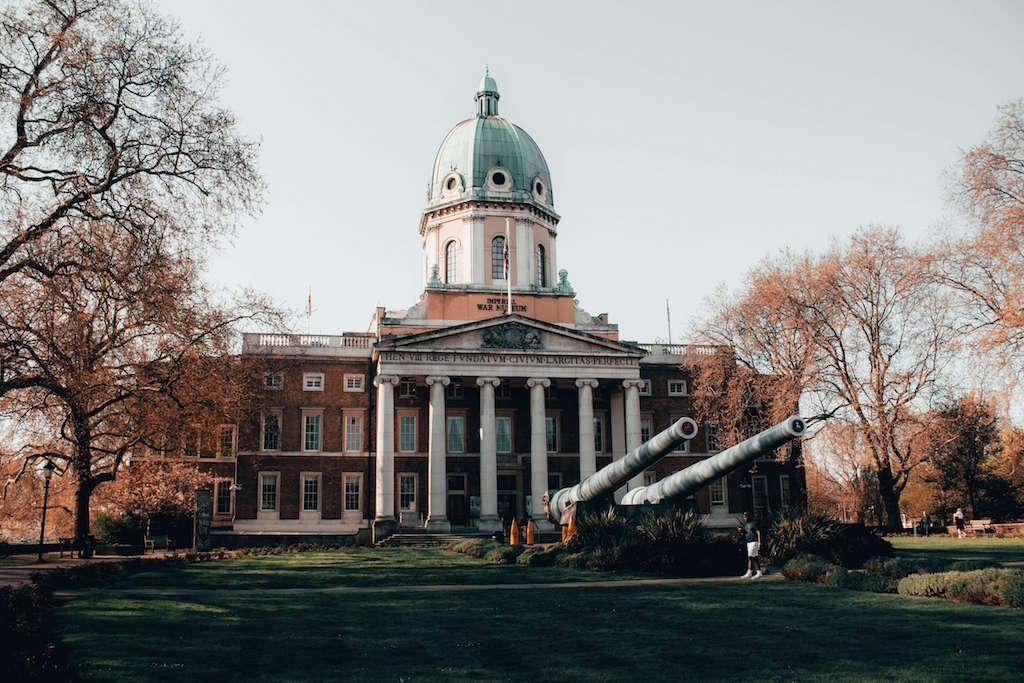 Facade of Imperial War Museum London
