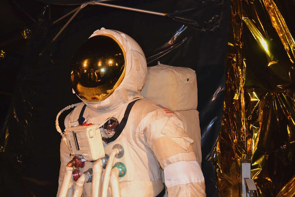 Space Suit at the Science Museum London