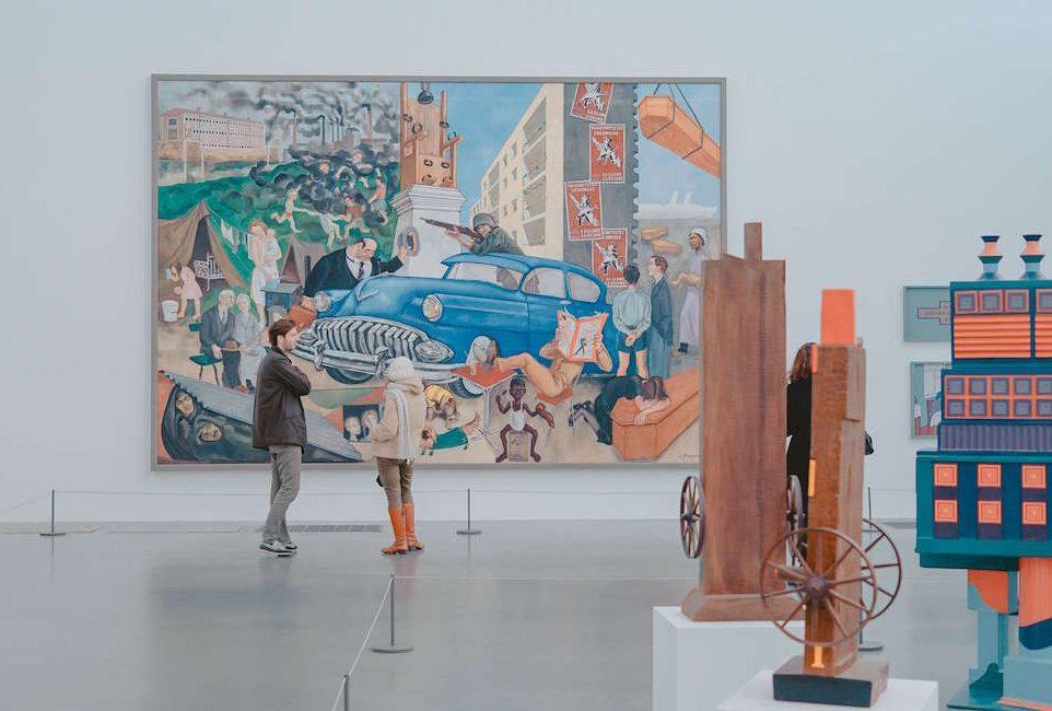 Modern Art at the Tate Modern London