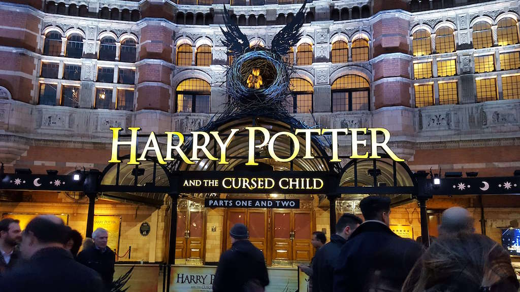 Harry Potter and the Cursed Child show in London's west end